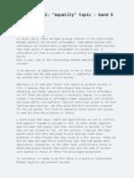 Sample Essay for Alex