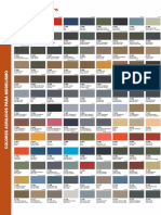 Model Air Colour Chart