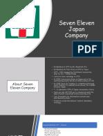 Seven Eleven Japan Company