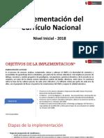 IMPLEMENTACION DEL CURRÍCULO NACIONAL