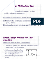 Two Way Slaba Directdesign