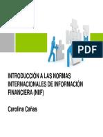 0. Introducción a Las NIIF 2018