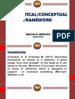 Conceptual Framework Report