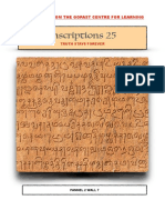 Inscriptions 25