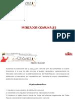 PRESENTACION MERCADOS COMUNALES