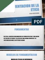 Fundamentacion de La Etica