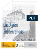 Hidrogeologia - Aguas Subetrraneas