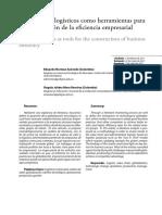 Primer Control de Lectura_Los Modelos Logísticos Como Herramienta Para La Construcción de La Eficiencia Empresarial 2017