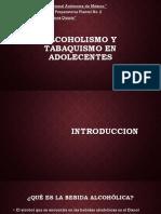 Alcoholismo y Tabaquismo en Adolecentes