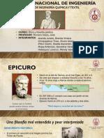 filosofía  epicuerismo