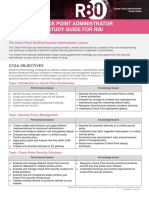 r80 System Administrator Study Guide