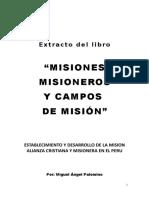 Extracto -Misiones, Misioneros y Cam Por Miguel Angel Palomino