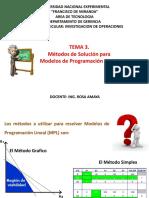 Tema 3. Metodos de Solucion Mpl. PDF