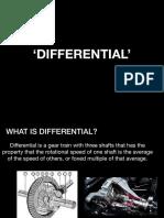 Presentation-differential