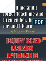 Ppt.inquiry Based Approach in Science