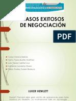 Casos Exitosos de Negociación