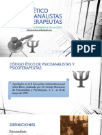 CÓDIGO ÉTICO DE PSIOANALISTAS Y PSICOTERAPEUTAS.pptx