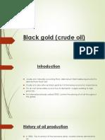 Black Gold (Crude Oil)