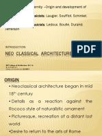 Neo Classical Architecture