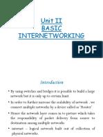 Basic Internetworking