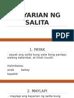 Filipino 9 Summative Test