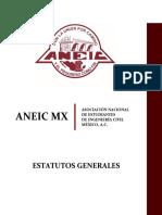 Estatutos Generales ANEIC México Mayo 2017