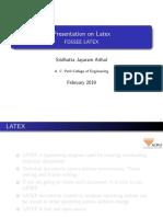 Latex | Te X | Portable Document Format