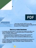 Desarrollo de La Energía Solar en Colombia y
