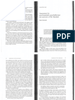 Assessment in Psychotherapy Chap 1 Compressed