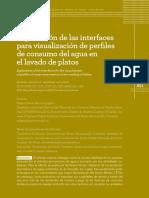 Exploración de Las Interfacespara La Visualizacion de Perfiles de Consumo Del Agua en El Lavado de Platos - EDRQ MCFM 2017