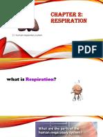 Chapter 2.1human Rspiratory System -Ntm