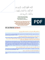 Duas for Arafaat