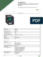 Zelio Plug-in Relays RXM2AB1JD