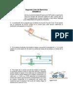 2da Lista _Dinamica