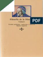 Voltaire - Filosofia De La Historia [1990].pdf
