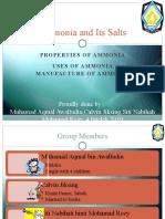 Chemistry - Ammonia and Its Salt (Slide Show)