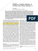 [23279788 - Journal of the American Society for Horticultural Science] Stem-water Potential as a Sensitive Indicator of Water Stress in Prune Trees (Prunus Domestica L. Cv. French)