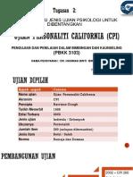 Ujian Personaliti California (Cpi)