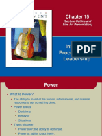 Influence Processes and Leadership