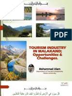 Tourism Industry in Malakand Division; Oppertunities & Chanenges