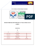 MANAGEMENT CONTROL SYSTEMS-Report Stell plant & Hpcl (1).docx
