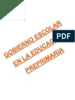 Gobierno Escolar Nivel Preprimario