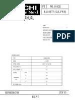 Hitachi r480ets Manual