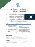 RPP Matematika Kelas VII Semester 2