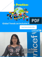 Global Trends on Inclusive Education July 2018