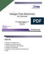 Halogen Free Electronics - Flinders OC Meeting Rev A