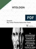 Origenes, Historia en Psicopatologia, Definiciones y Concepto de Psicopat