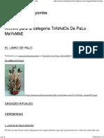 TrAtAdOs De PaLo MaYoMbE - Todo Sobre Mayombe.pdf