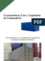 Contenedores. Tipos y Legislación