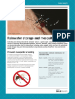 Rainwater Storage Mosquito Breeding